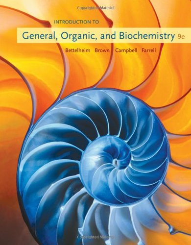Books Cotton Organic (Introduction to General, Organic and Biochemistry, 9th Edition)