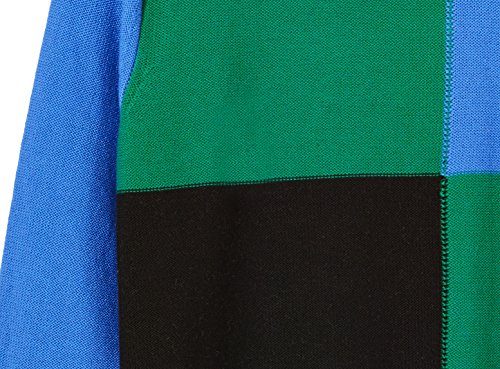 Kid Nation Boys' Long Sleeve Pullover Color Blocked Sweater L Blue by Kid Nation (Image #2)