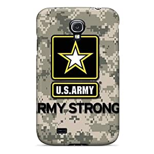 Samsung Galaxy S4 UfF5813Bllc Allow Personal Design Realistic Army Image Shock Absorbent Hard Phone Covers -SherriFakhry