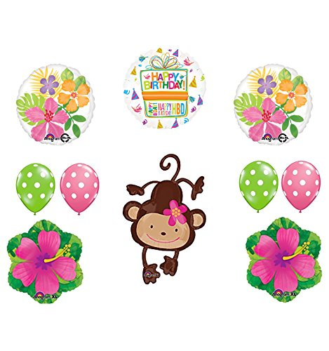 Mod Monkey Party Supplies Birthday Girl Monkey Love