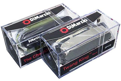 DiMarzio The Chopper T & Twang King pickup set for Telecaster, Black & Chrome
