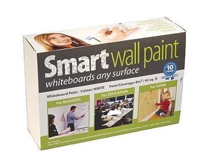 Pintura de Pizarra Smart Blanca 6m² - pizarra blanca - borrado en ...