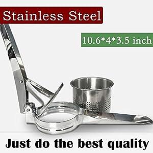 BoxLegend Kartoffelpresse und Abbruchgerät mit rostfreiem Stahl aus Ehelstahl