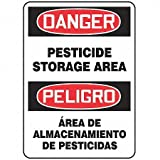 Best Accuform Pesticides - Accuform Signs SBMCAW109VS Adhesive Vinyl Spanish Bilingual Sign Review