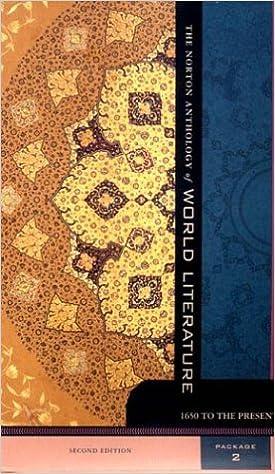7a86b6984de Amazon.com  The Norton Anthology of World Literature