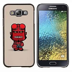 Stuss Case / Funda Carcasa protectora - Mignon Personnage enfer Man - Samsung Galaxy E5 E500