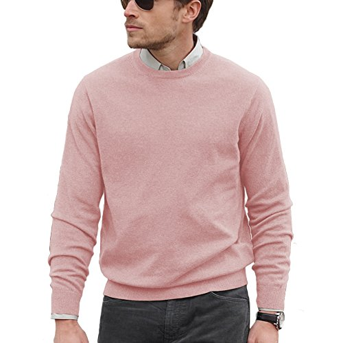 Pink 100% Cashmere Sweater - 6