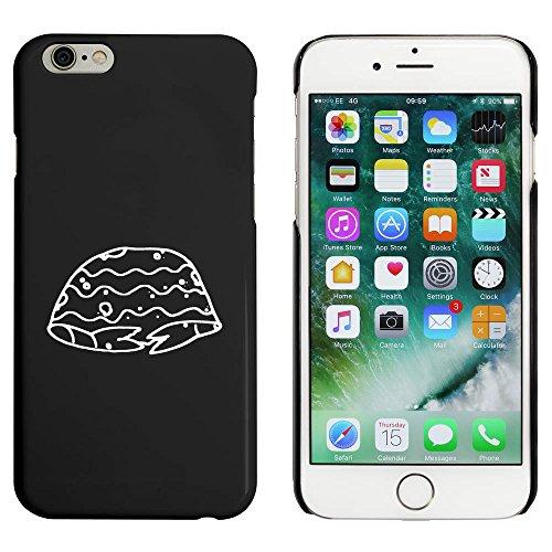 Schwarz 'Einsiedlerkrebs' Hülle für iPhone 6 u. 6s (MC00008897)