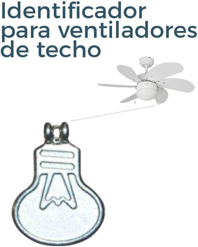 TIRADOR PARA INTER. DE LUZ PARA VENTILADOR DE TECHO EDM