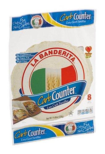 La Banderita Carb Counter Low Carb Tortillas - 8 ct by La Banderita