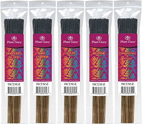 Incense Sticks Variety Pack Sampler Set Exotic 925 Grams COUNT 425 TO 500 STICKS Premium Quality Smooth Clean Burn Each Stick Is 10.5 Inches Long Burn Time is 45 to 60 Minutes Each