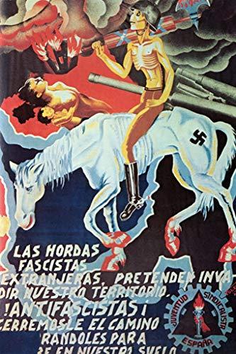 ArtParisienne Las Hordas Fascistas Toledo 24x36-inch Wall Decal
