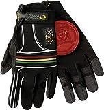 Sector 9 BHNC Slide Gloves S/M - Rasta by Sector 9