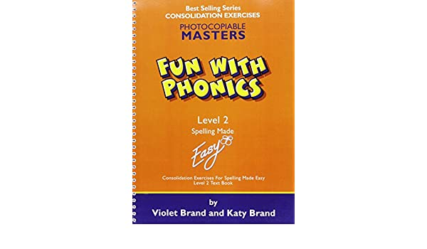 Fun with Phonics: Worksheets Level 2 (Spelling Made Easy): Violet ...