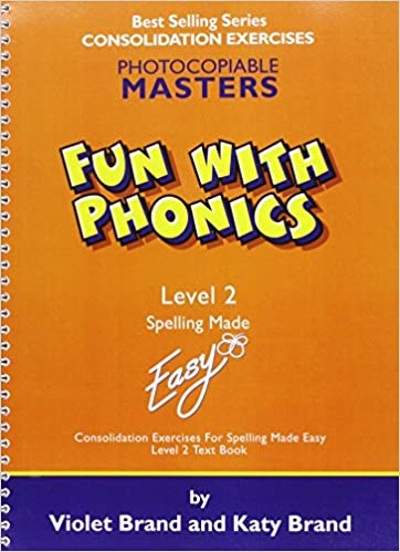 Workbook free phonics worksheets : Fun with Phonics: Worksheets Level 2 (Spelling Made Easy): Violet ...