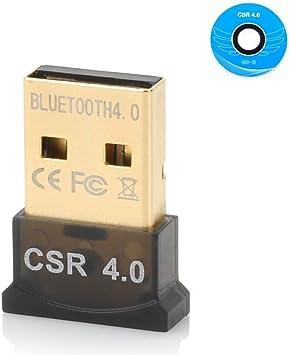 Mini Wireless CSR USB Bluetooth Adapter 4.0 for PC Laptop Win XP Vista 7// 8//10