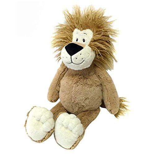 Snuggle Stuffs Plush Sitting Caramel Lovable Lion, 18