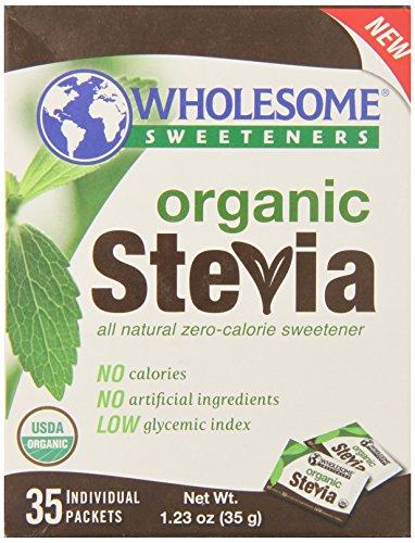 Здоровое подсластители органических Стевия, чистый вес. 1.23 Oz 35 Граф