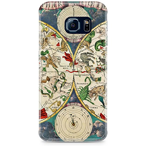 Phone Case For Apple iPhone 5C - Antique Celestial Sky Map Back Slim