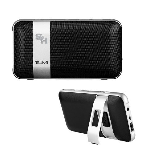 SHSU Tumi Wireless Portable Speaker w/Powerbank 'SH Paw Official Logo Engraved' by CollegeFanGear