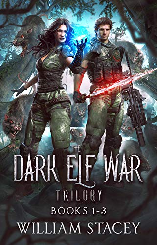 The Dark Elf War Trilogy: Books 1-3