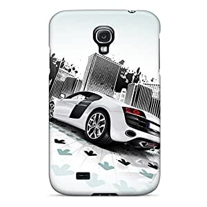 New Arrival Cover Case With Nice Design For Galaxy S4- Audi R8