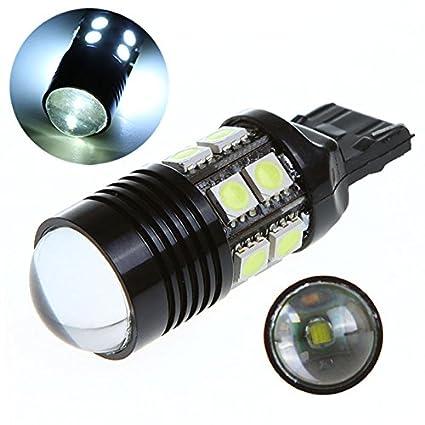 2 x gran angular de iluminación 12 LED SMD 5050 T20 10 W Proyector ...