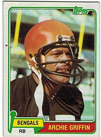 5fa720b67 Amazon.com  1981 Topps AFC Champion Cincinnati Bengals Team Set with Ken  Anderson   Archie Griffin - 13 NFL Cards  Collectibles   Fine Art