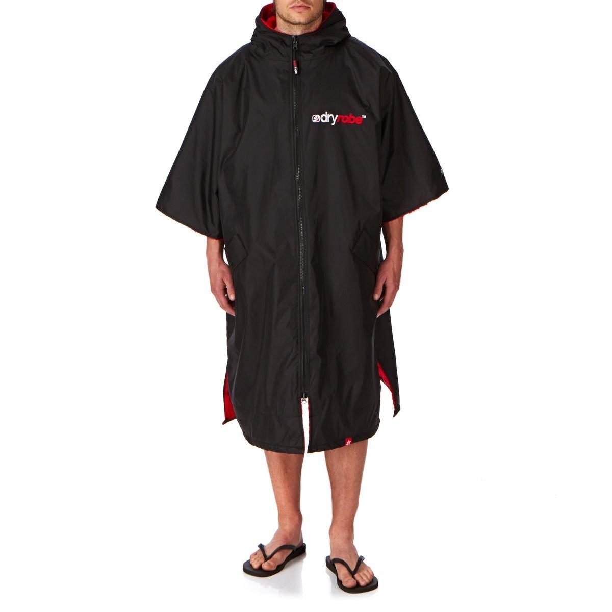 【まとめ買い】 DryRobe Advance大人用ローブ変更 – 変更半袖ポンチョ/Dryローブ – B00HZUFT5E DryRobe X-Large ブラック/レッド X-Large ブラック/レッド X-Large, バンビカフェ:c5995e0f --- egreensolutions.ca