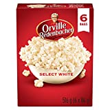 Orville Redenbacher Popcorn, Select White, 6 Count (Pack of 6)