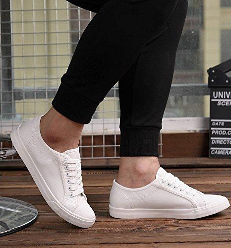 scarpe scarpe XFF in e di scarpe casual stoffa tela bianche selvaggi uomo uomo nero bianco da bianca da di Scarpe scarpe scarpe scarpe bianche 4ztnzq