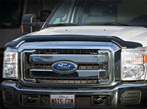 WeatherTech Custom Fit Stone & Bug Deflector for Dodge Ram 1500 Pickup, Dark Smoke