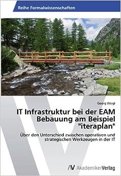 IT Infrastruktur bei der EAM Bebauung am Beispiel 'iteraplan': Über den Unterschied zwischen operativen und strategischen Werkzeugen in der IT