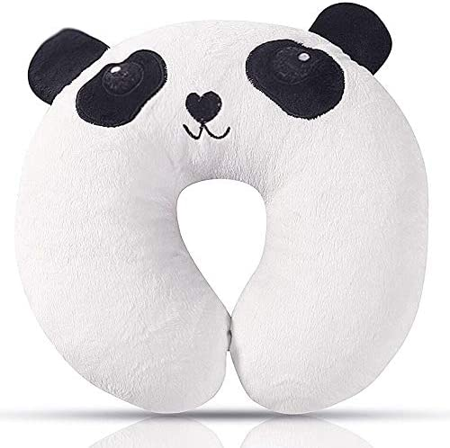 Children Neck Squirrel Neck Support with Memory Form Cat Panda new Neck Roll