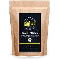 Kamille-bloemen Thee Bio 250 g - EU - teelt - hoogste kwaliteit biologische amillebloemen - kamillentee - gevuld en…