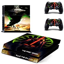 STAR WARS ALL EPISODES, ALL HEROES Exclusive PS4 Sticker Skin for PlayStation 4 (Rule The Galaxy)