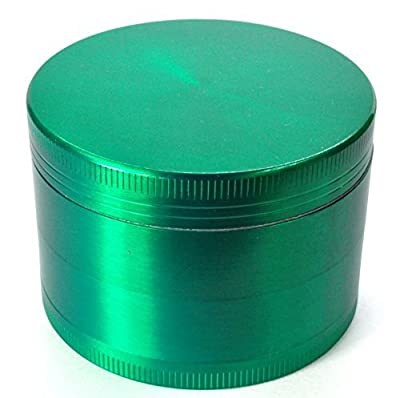 PuTwo Weed Grinder 40mm 4 Piece Herb Grinder Spice Grinder Pollen Plant Grinder Travel Grinder - Green from PuTwo