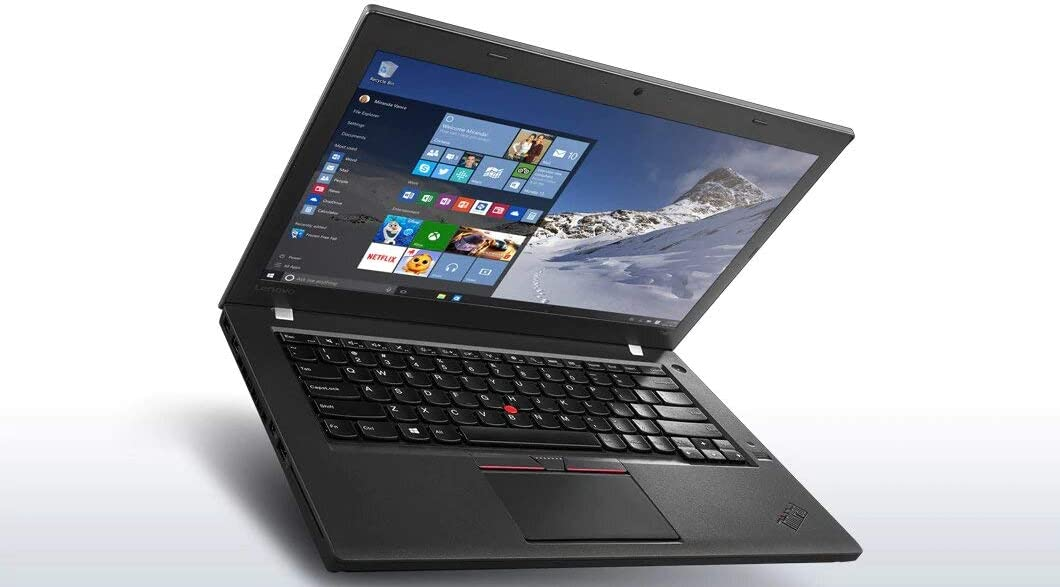 "Lenovo Thinkpad T460 Touchscreen Ultrabook (14"" FHD Touch Display, Intel Core i7-6600U 2.6GHz, 8GB RAM, 256GB SSD, Webcam, Backlit Keyboard, Fingerprint Reader, Windows 10 Pro) (Renewed)"