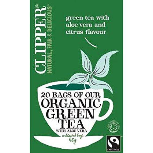 Clipper - Organic Green Tea Aloe Vera | 20 Bag