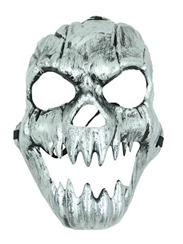 Zando Halloween Costume Funny Fancy Cosplay Stage Play Party Club Creepy Mask Style 2 Ghost Mask (Easy Homemade Cowboy Costumes)