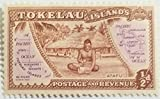 TOKELAU ISLANDS MINT/H STAMP SCU665GG