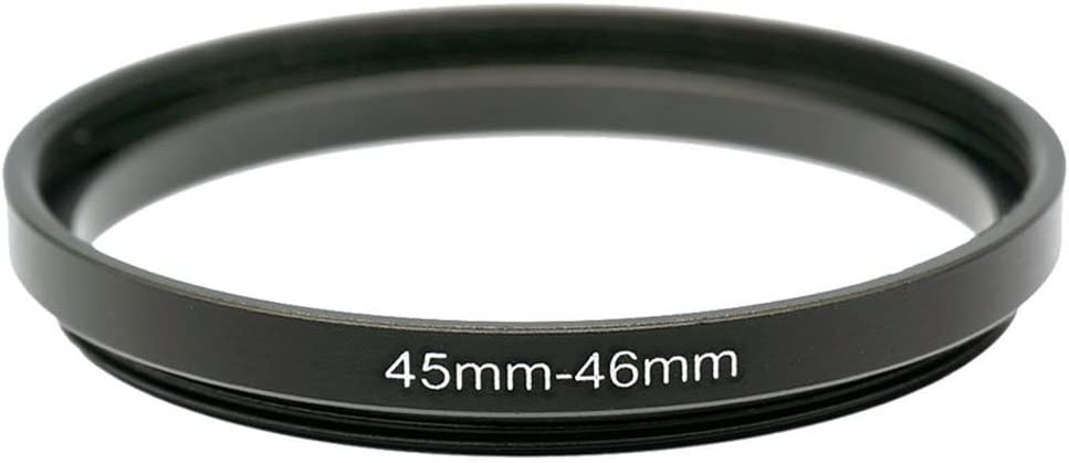 Gadget Place 45mm to 46mm Adapter Ring for Nikon Coolpix 5400 E5400 and Polaroid
