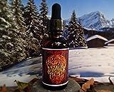 7 Sins Beard OIL Sinful Sloth 1 Fluid Ounce Fresh Eucalyptus Pine Smell Dropper Top