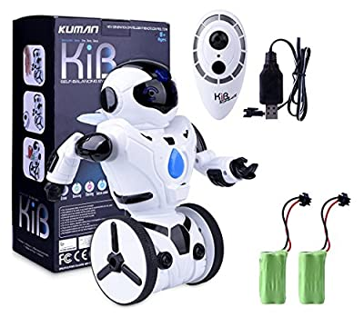 New Age Smart Self Balancing Robot with 5 modes, Drive, Dancing, Boxing , Gesture Control, (Rechargeable Version with Extra Rechargeable Battery)