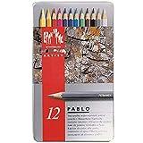 Caran D'ache 12 Color Pablo Set