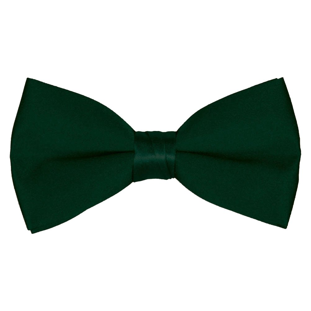 Boys' & Adult Deluxe Satin Adjustable Bow Tie By Tuxgear