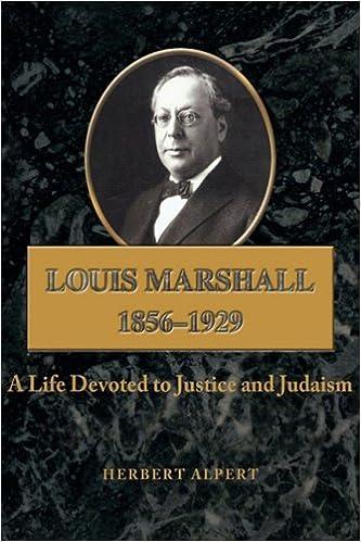 Louis Marshall: 1856-1929