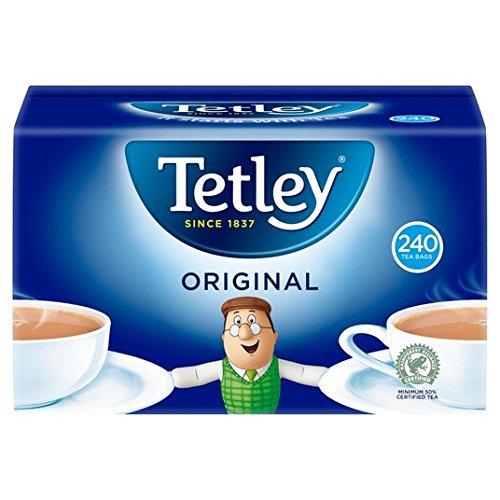 Tetley - Original Tea Bags 240-750g (Best British Tea Brands)