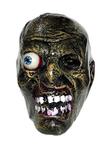 Luau Costumes Images (Forum Novelties Head Zombie, Multicolor)