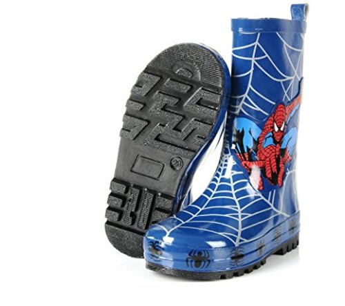 Pictures of Spider-Man Boy Kids Wellington Boots Wellies 5